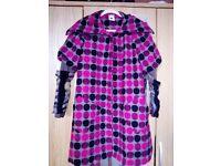 NUVULA designer style coat size S/M