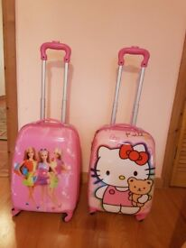 Girls cute luggages