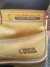 Steel toe cap work boots size 9