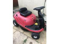 Petrol ride on Lawnmower mtd Kawasaki mower