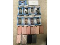 JOB LOT POHNE CASES LIGHT UP LUMEE TOTAL x 20 WHOLE SALE IPHONE & SAMSUNG