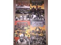 The Walking Dead graphic books x 20