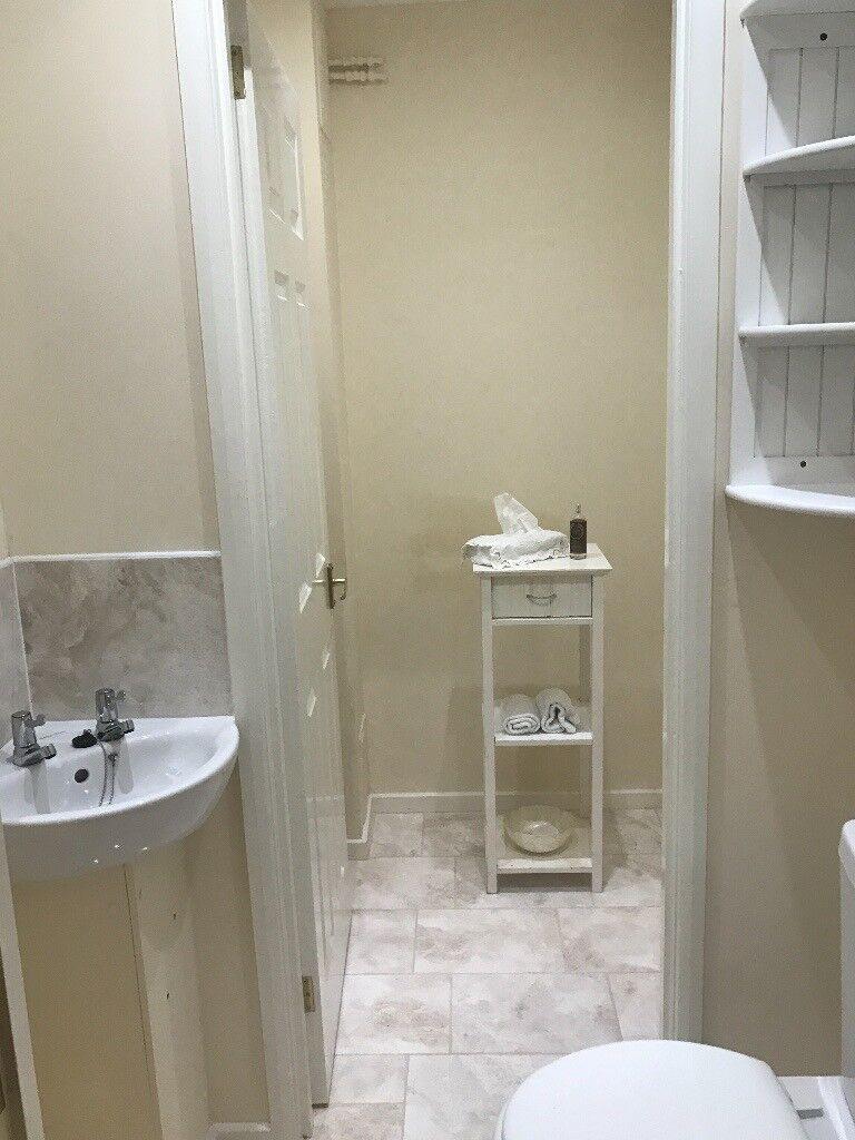 Lovely 3 Shelf Wooden Bathroom Unit in White from John Lewis
