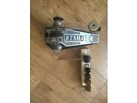 Tama drum pedal and box of sonor beaters