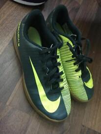 Boys Nike football trainers
