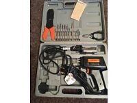 Electric soldering iron never used excellent condition all in box