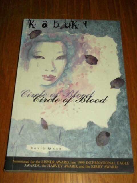 Kabuki Circle of Blood Volume 1 by David Mack (Paperback, 1997)< 9781887279802