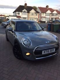 Mini hatch Moon walk grey, Auto chilli pack + 17'' allow wheels
