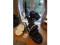 Silver Cross Surf Travel System including carseat and other accessories