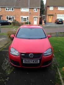 Volkswagen Golf GTI DSG AUTO red 129769 REMAP 260BHP DECAT ENGINE REBUILD WITH PROOF AND WARRENTLY
