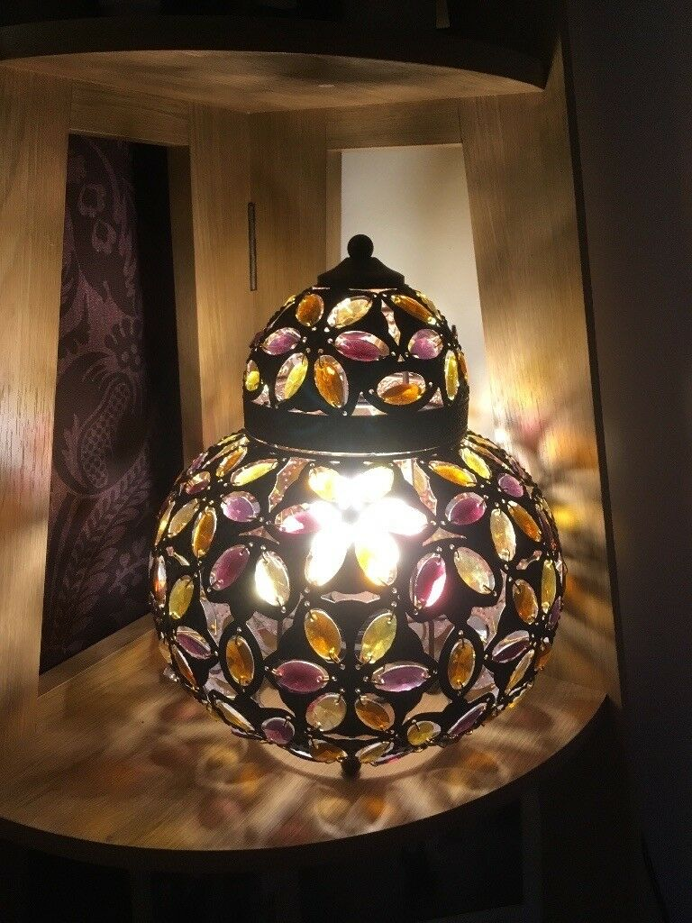 Two Next Moroccan Lamps In Motherwell North Lanarkshire