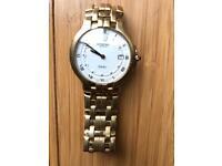 """Raymond Weil """"Fidelio"""" Gold Watch. Vintage"""
