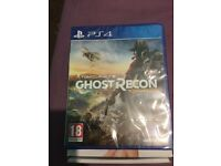 PS4 game ghost recon brand new