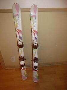 Ski fille  110cm   et 120 cm