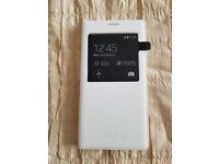 Samsung galaxy S5 S view white cover