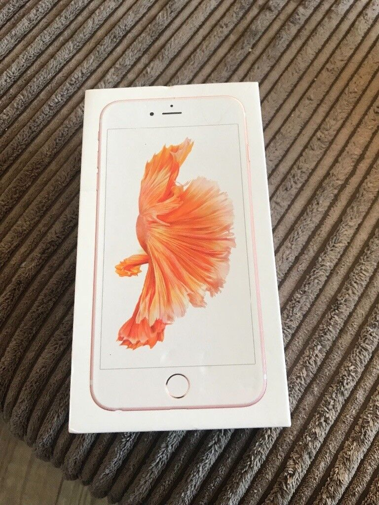 iPhone 6s Plus rose gold 16gb SOLD