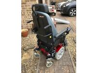 Electric powered wheelchair - Salsa M Quickie with tilt function and Jay Comfort seat