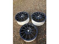 team dynamics corsa alloy wheel choice of three £10 each black vauxhall alloy