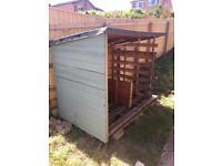 Free: Log store / shed / storage