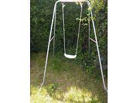 Child's single swing