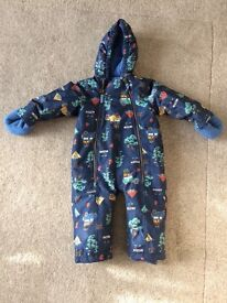 Joules Boys Snowsuit 18-24months