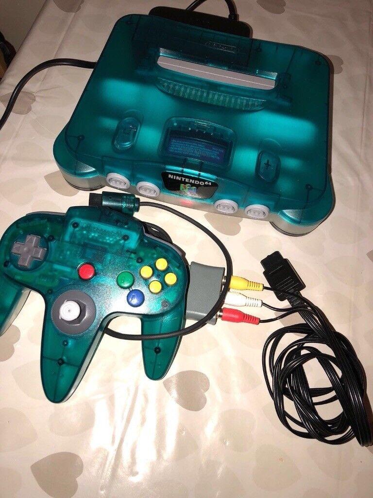 Nintendo 64 ice blue | in Westminster, London | Gumtree