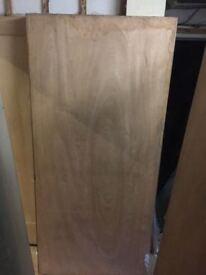 Internal Ply Fire Door 826 x 2040 x 44mm unused