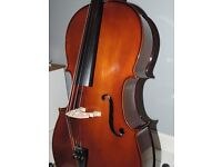 3/4 Size Stentor Student Cello II with padded bag- Great Condition