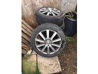 Commercial alloys 18 inch. Transporter caddy transit etc.