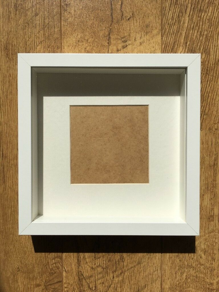 19 IKEA Ribba chunky picture frames in white, set of 19 | in ...