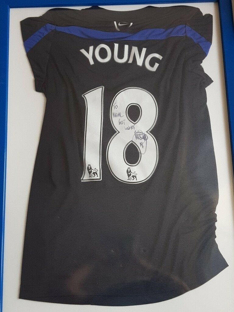 Signed young number 18 t-shirt