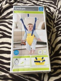 Lindam Jump About Bouncer in excellent condition with box