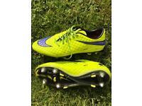 Nike Hypervenom Nike Skin Football Boots Size UK 9
