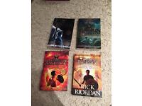 4 Percy Jackson books