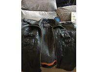 Men's size large super dry leather jacket for sale
