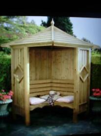 garden Arbour bench/ gazebo
