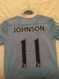 Manchester City match worn shirts