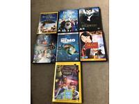 7 x Disney DVDs