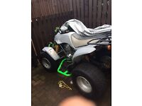 250cc Apache road legal quad