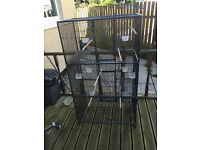 Parrot cage/bird cage brand-new only used for two days but it all comes with