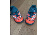Infant size 8 Adidas football trainers