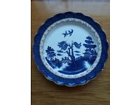 blue pattern willow plate 10 in***** £10*****