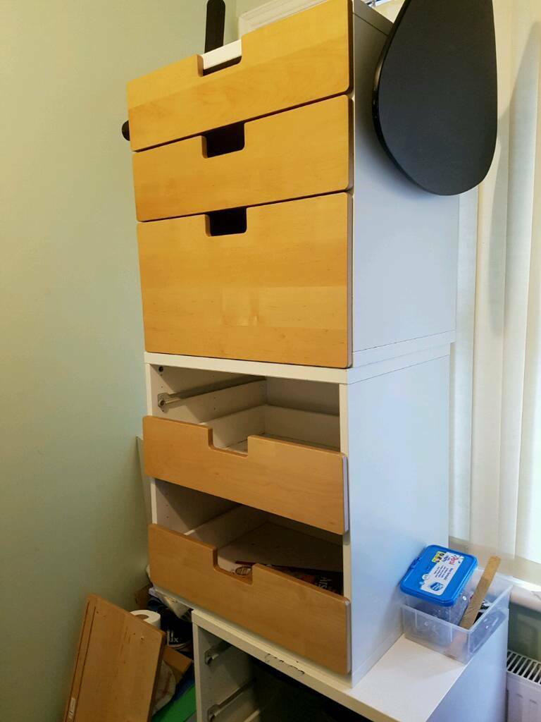 STUVA Ikea Drawer unit/carcus with some drawersin Bournemouth, DorsetGumtree - Drawer unit/ carcus with some drawers and drawer fronts in beech (or white). Spare drawers can be purchased from IKEA. See photos for details. I am selling these carcuses for £35 each or £85 for job lot