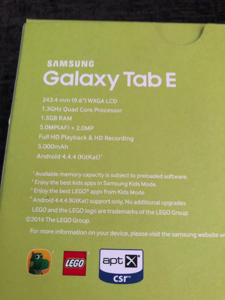 Samsung galaxy tab E like new | in Newcastle-under-Lyme, Staffordshire |  Gumtree