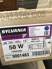 Sylvania Luxline Plus bulbs