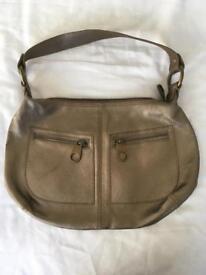 Ted Baker Gold Leather Bag