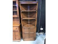 Ercol corner cabinet cupboard unit