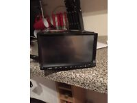 Double din dvd/cd player