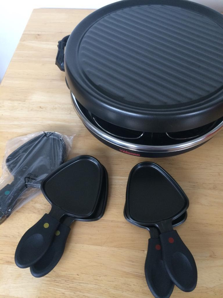 Tristar Raclette table top grill machine