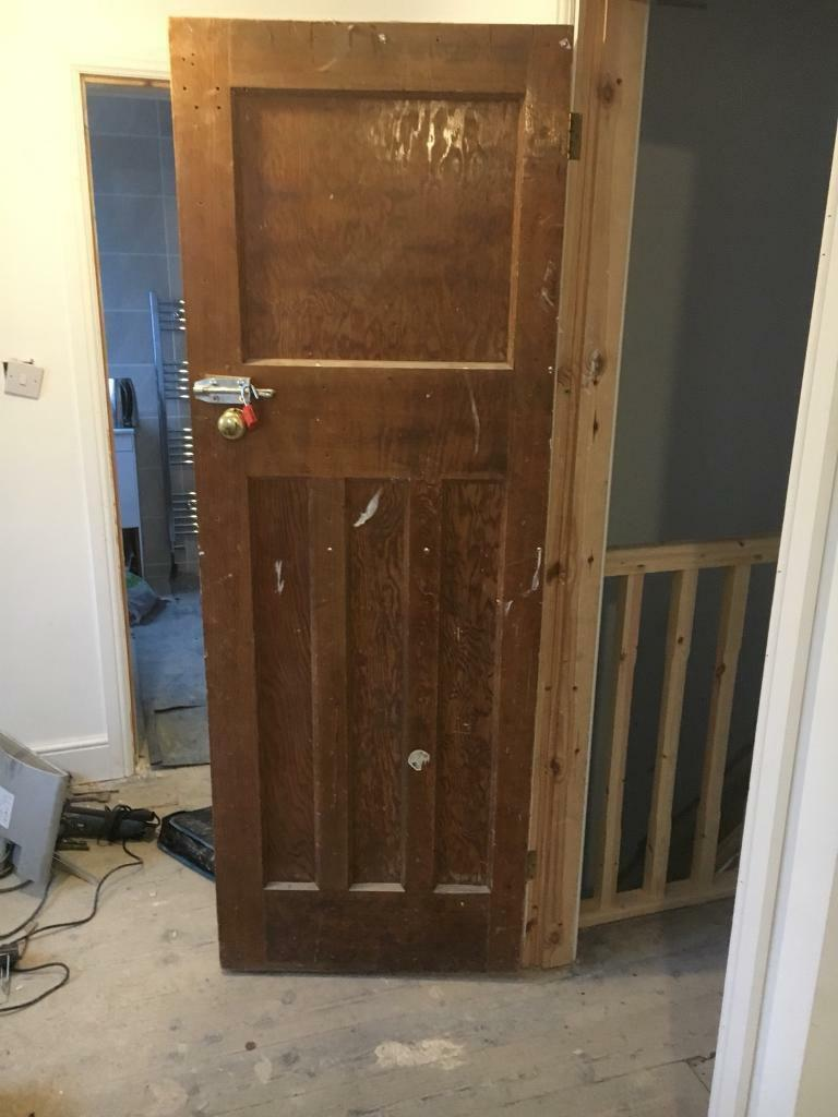Old wooden internal doors for renovation solid wooden doors
